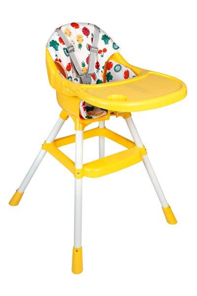 Minderli Mama Sandalyesi Sarı