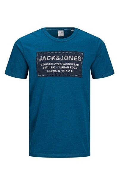 Erkek Mavi T-shirt