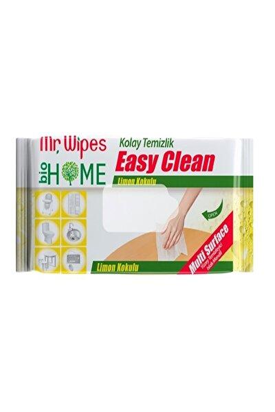 Mr. Wipes Çok Amaçlı Yüzey Temizleme Mendili - Limon 40 Yaprak