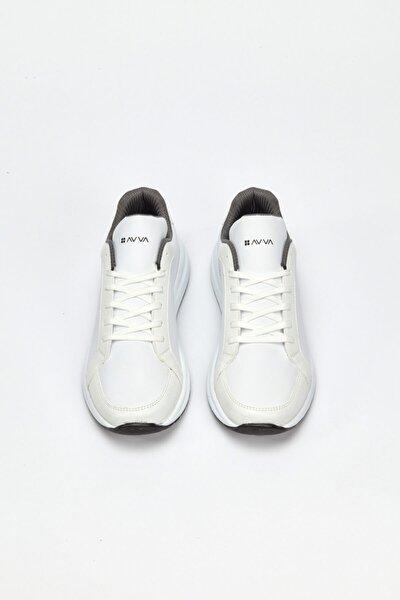 Erkek Beyaz Spor Ayakkabı A02y8026