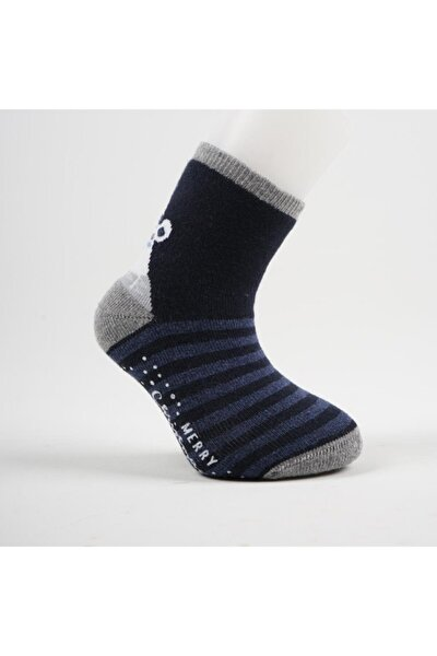Cristy 3'lü Abs'li Çocuk Havlu Soket Çorap