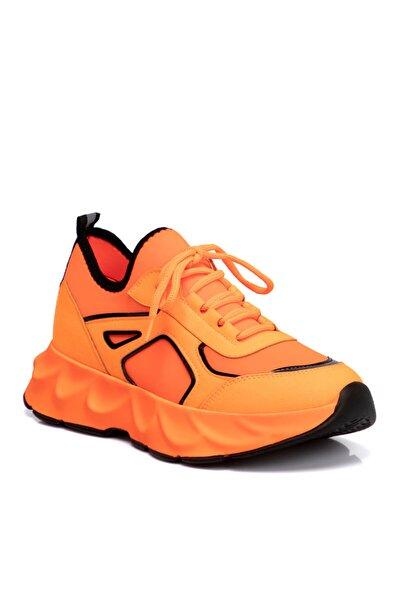 Turuncu Vegan Kadın Ayakkabı 210069ı72
