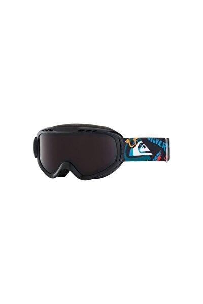 Unisex Çocuk Siyah Flake Goggle K Sngg Kayak Gözlüğü