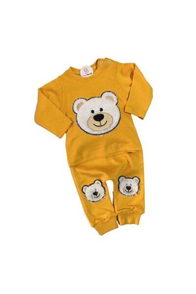 Sarı Ayıcık Bebek Takım