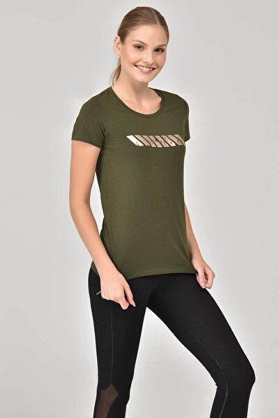 Haki Kadın T-shirt Ew-3006
