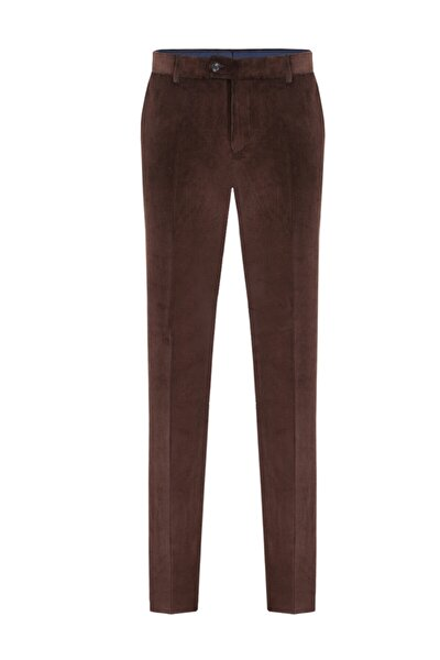 Kalın Fitilli Klasik Kadife Pantolon