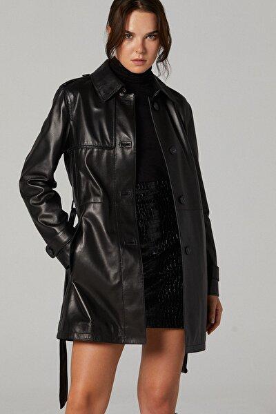Edwina Kadın Deri Ceket