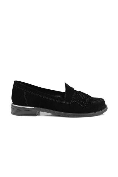 Orse Siyah Süet Makosen Ayakkabı