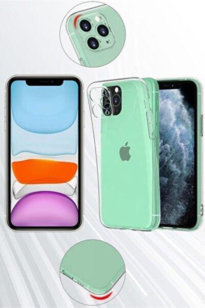 Apple Iphone 11 Kamera Koruyuculu Şeffaf Kılıf