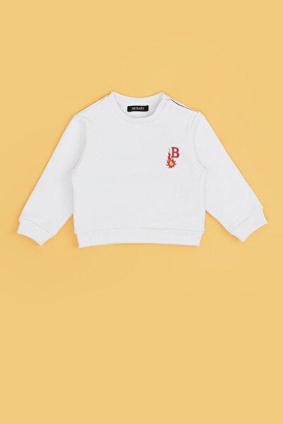 Erkek Bebek Beyaz S-shirt 20fw0bg1424