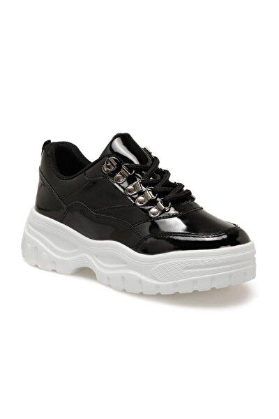 20K-289 Siyah Kadın Fashion Kalın Taban Sneaker Spor Ayakkabı 100572966