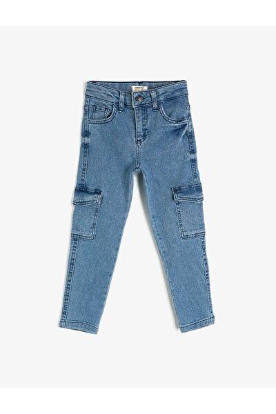 Erkek Çocuk Mavi Mid Indıgo Jean Pantolon