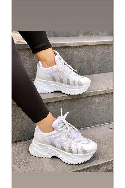 Mel Shoes Kadın Beyaz Sneaker Mel0002020-05