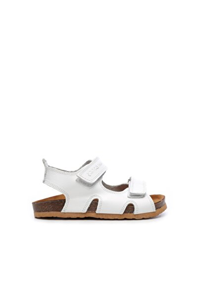 Unisex Çocuk Beyaz Derı Sandalet 719 300 Cck 22-30 Y19