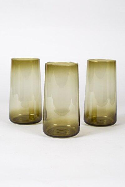 Shadow 3'lü Meşrubat Bardağı Seti Yeşil 540 Cc