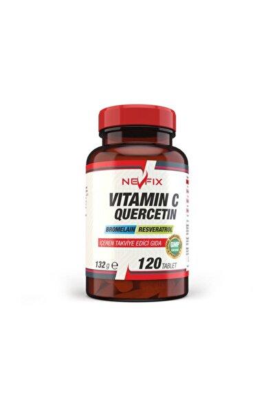 Vitamin C 120 Tablet Resveratrol Kuşburnu Aserola Kuarsetin