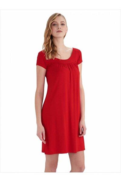 59333 Kısa Kollu Penye Elbise