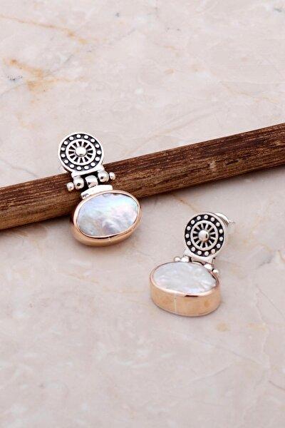 Inci Antik Tasarım Elişi Gümüş Küpe 5060