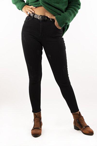 Kadın Siyah Skinny Jean