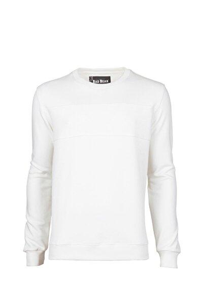 Erkek Beyaz Forward Nıght Sweatshırt 19.02.12.009