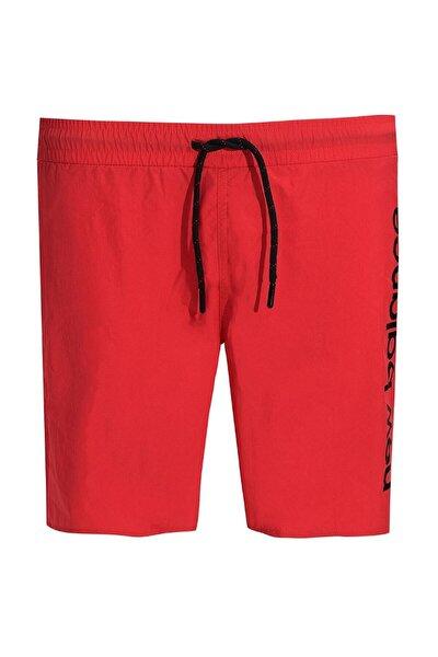 Erkek Kırmızı Şort Bermuda MTS1977-CHR