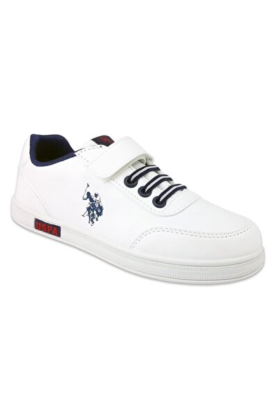 U.s Polo Cameron Günlük Çocuk Spor Ayakkabı-beyaz