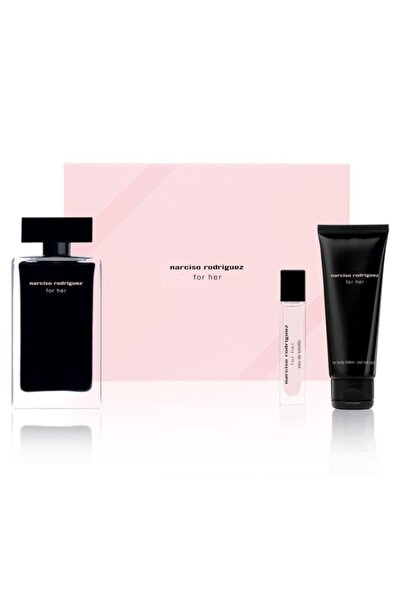 For Her Edt 100 ml + Edt 10 ml+ Body Lotion 75 ml
