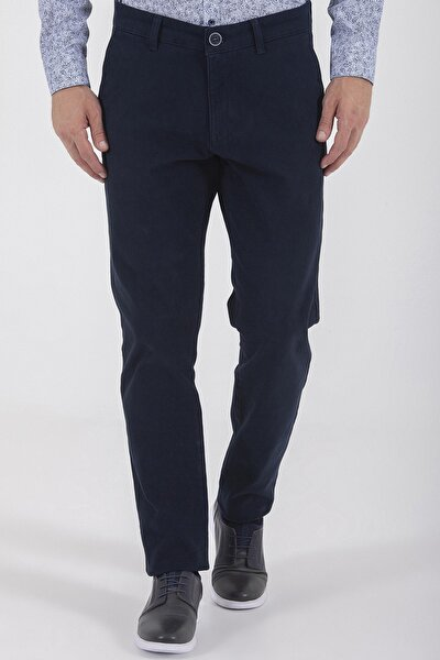 Slim Fit Lacivert Pantolon 29263019C001