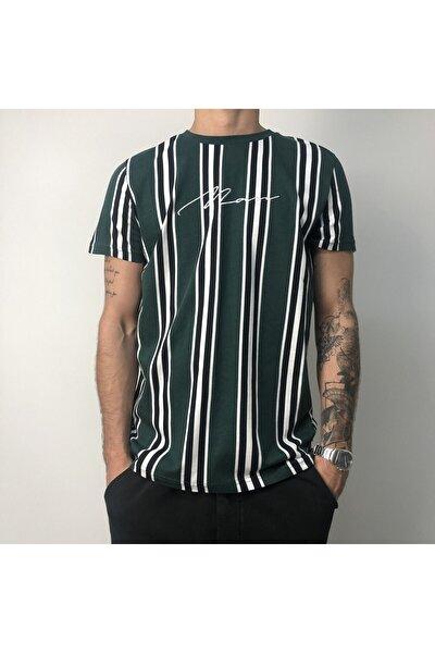 Erkek Yeşil Regular Fit T-shirt