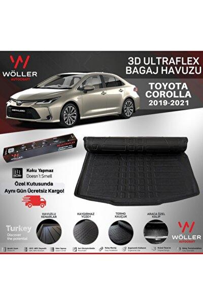 Toyota Corolla Bagaj Havuzu Uyumlu 2019 2021 Arası 3d Ultraflex Esnek