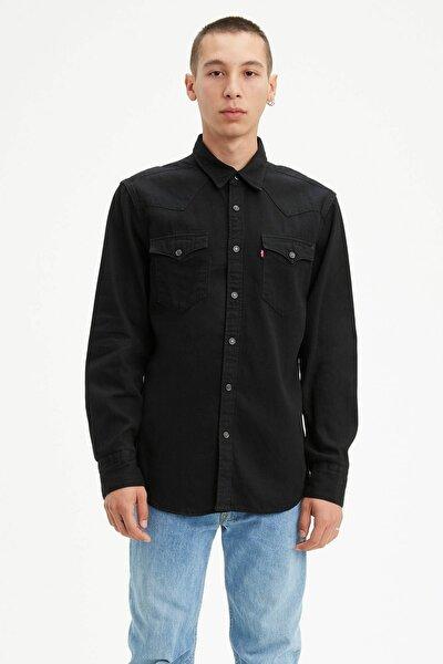 Erkek Barstow Western Standard Jean Gömlek