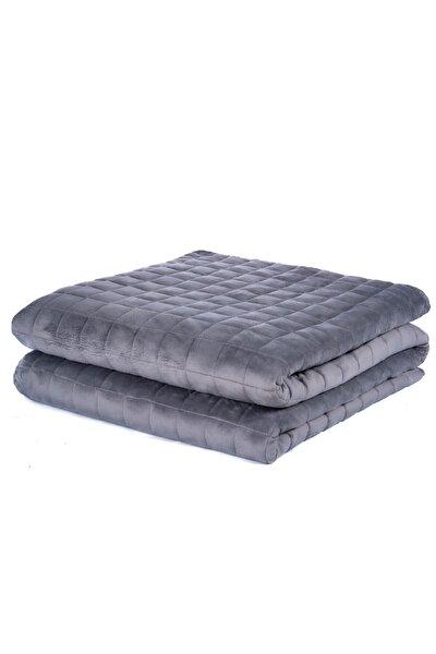 Ağırlıklı Battaniye Dört Mevsim, Gri 140x200cm | 6 kg 50-60 kg