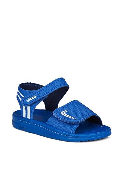 Dory Erkek Bebe Saks Mavi Sandalet