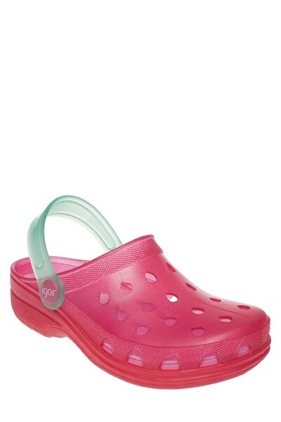 S10116 -Ö14 Fuşya Kız Çocuk Sandalet 100293819