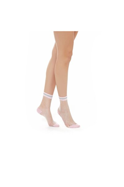 Luna Kadın Soket Çorap - Pembe