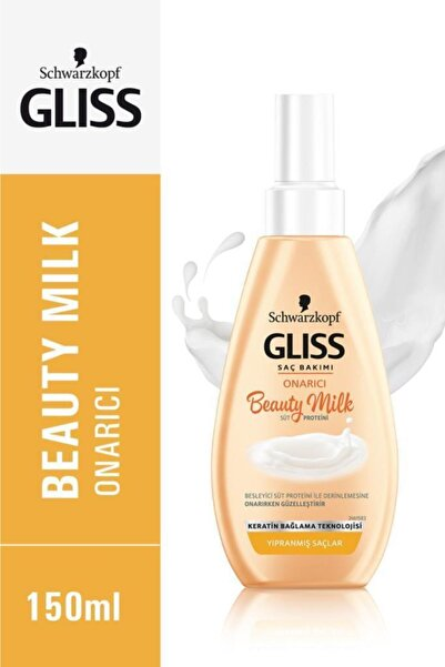 Schwarzkopf Gliss Beauty Milk-Onarici Bakim Sütü 150 Ml