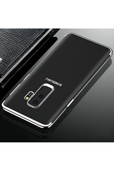 Galaxy A6 Plus 2018 Kılıf Dört Köşeli Lazer Silikon