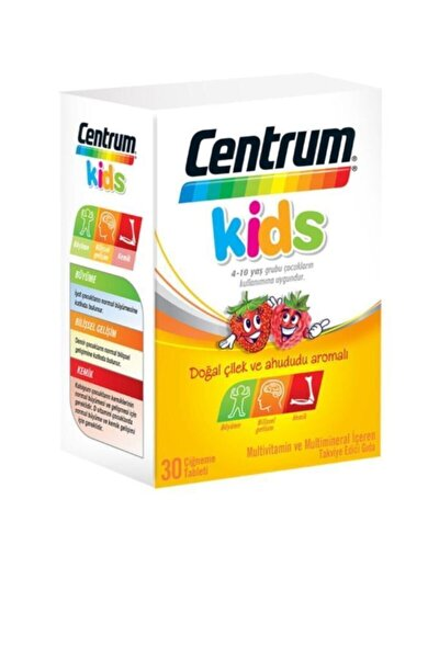 Kids Multivitamin 30 Çiğneme Tableti