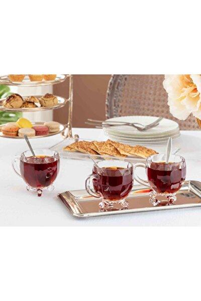 Priour 4'lü Çay Fincanı
