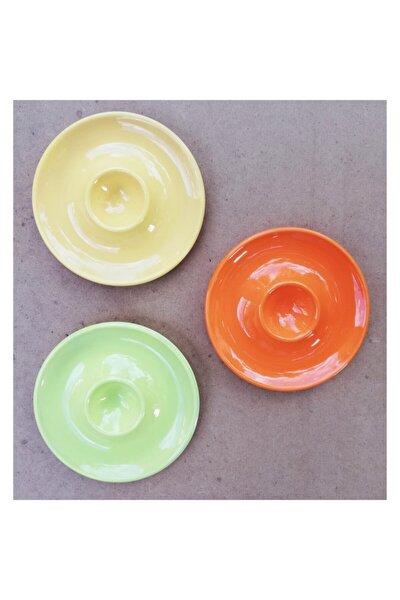 3'lü Karışık Renk Seramik Yumurtalık