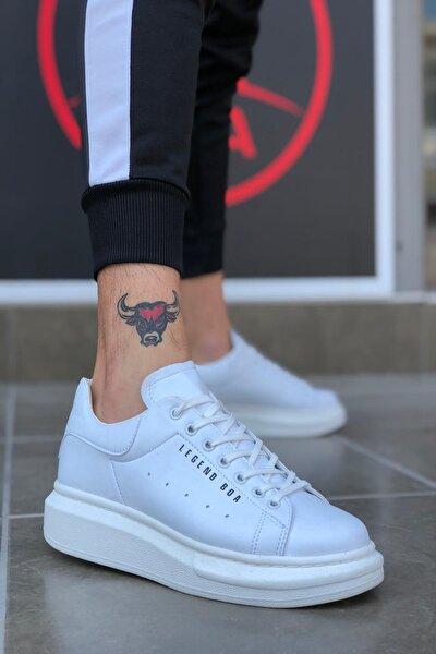 Unisex Beyaz Bt Sneaker