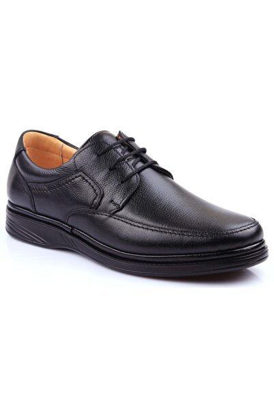 Iç Dış Hakiki Deri Ultra Ortopedik Büyük Numara Günlük Erkek Ayakkabı 701-10
