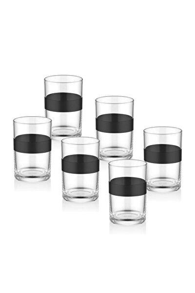 Dark Kahve Yanı Su Bardağı 6'lı Set