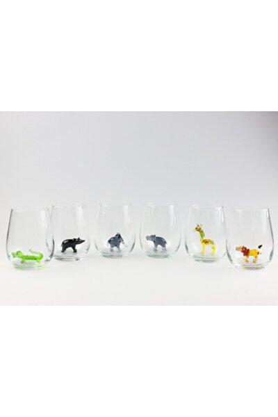 Amazon Serisi Figürlü Su Bardağı 6'lı Set