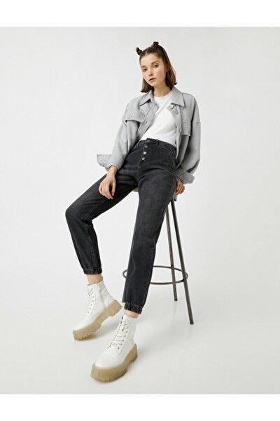 Kadın Gri Jeans 1YAK47703MD