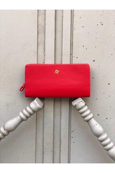 Kırmızı Bayan Cüzdanı