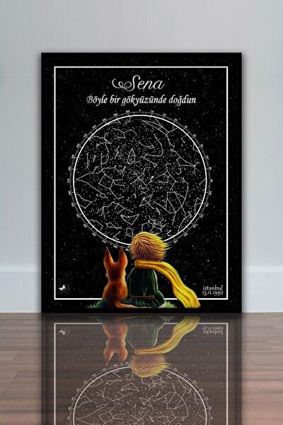 Yıldız Haritası Tablosu-sinematik Seri-küçük Prens