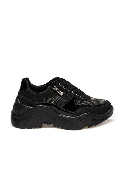 20K-411 Siyah Kadın Fashion Sneaker 100573006