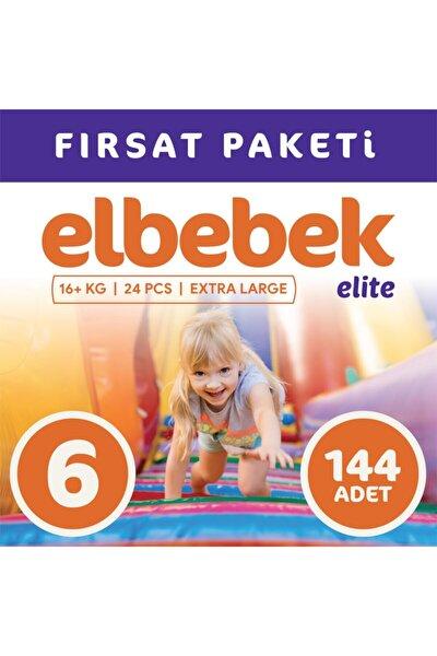Bebek Bezi 6 Numara X Large 144 Adet