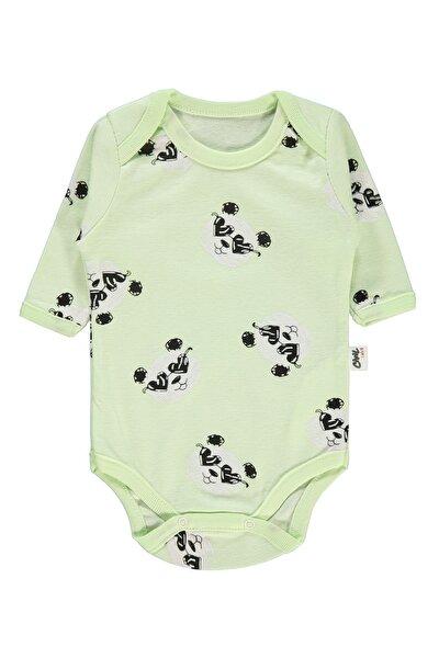 Kız Bebek Çıtçıtlı Badi 0-24 Ay Yeşil